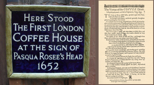 First London Coffeehouse